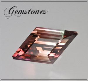 Bi-Color Tourmaline Himalaya Mine gemstone
