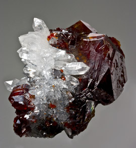 Sphalerite Quartz China
