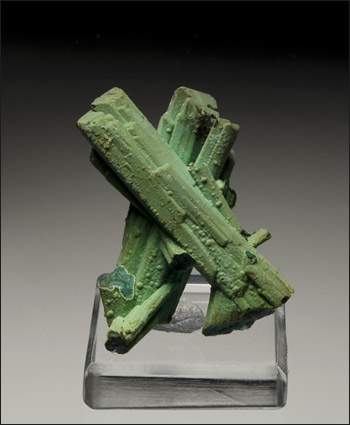 Chrysocolla pseudomorph after Azurite Silica Pit Ray Mine Arizona miniature