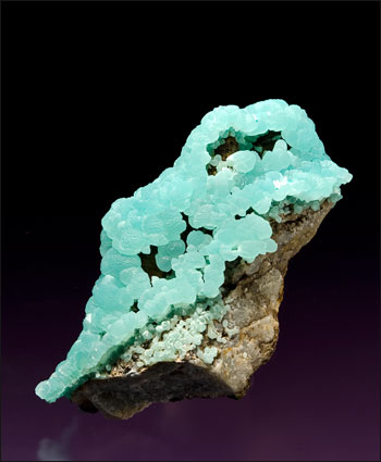 smithsonite Kelly Mine small cabinet