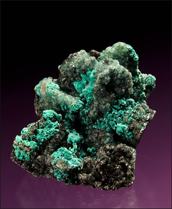 willemite with rosasite Tsumeb mine small cabinet