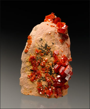 Vanadinite Mibladen Morocco small cabinet