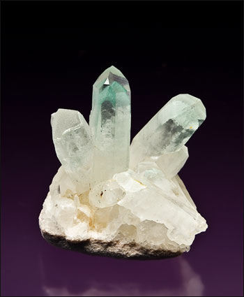 quartz with fuchsite inclusions Iovitra mine Madagascar miniature